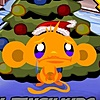 10244_Monkey_GO_Happy_Xmas_Tree