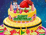Creamy-Christmas-Cake-Decorations